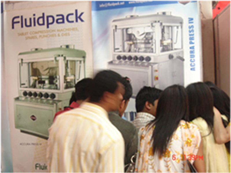 Tablet Coating Machine Supplier Exhibition in Nepal 2010