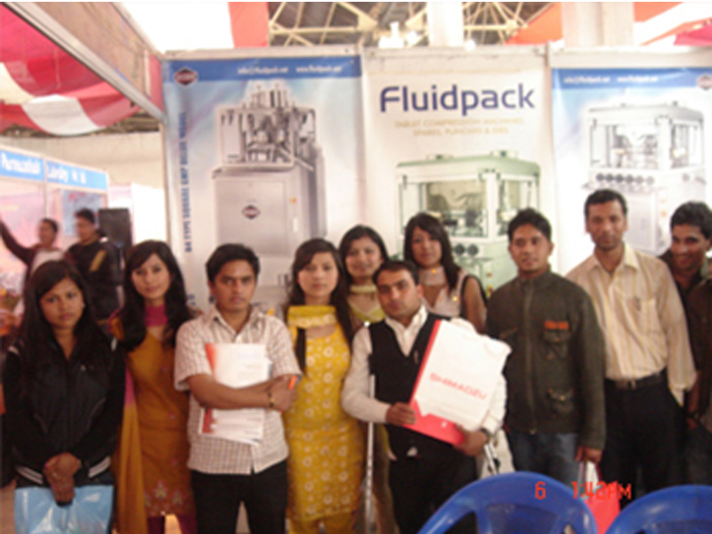 Tablet Press Machine Manufacturer and Supplier Exhibition in Nepal 2010