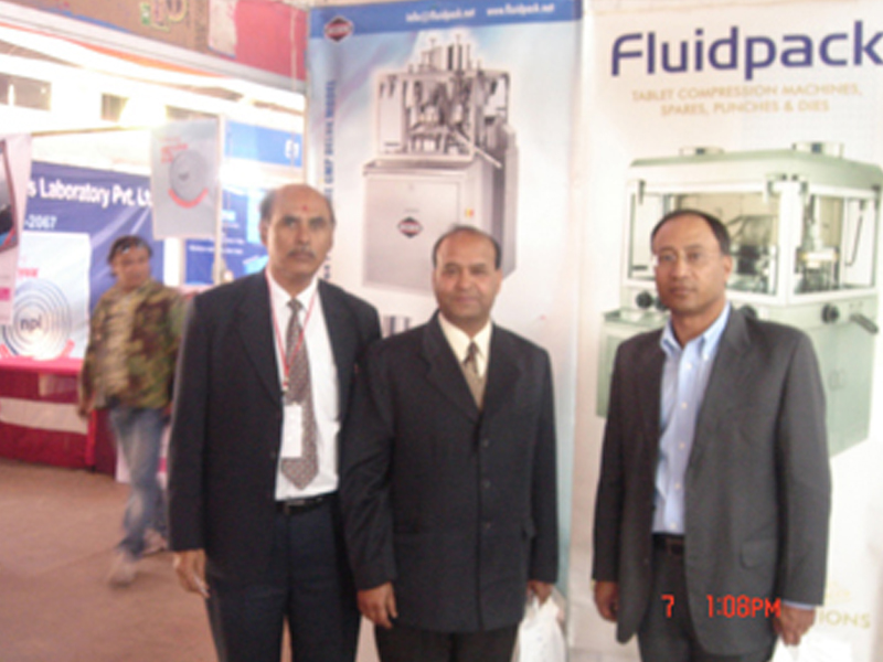 Tablet Compression Machine Exhibition in Nepal 2010