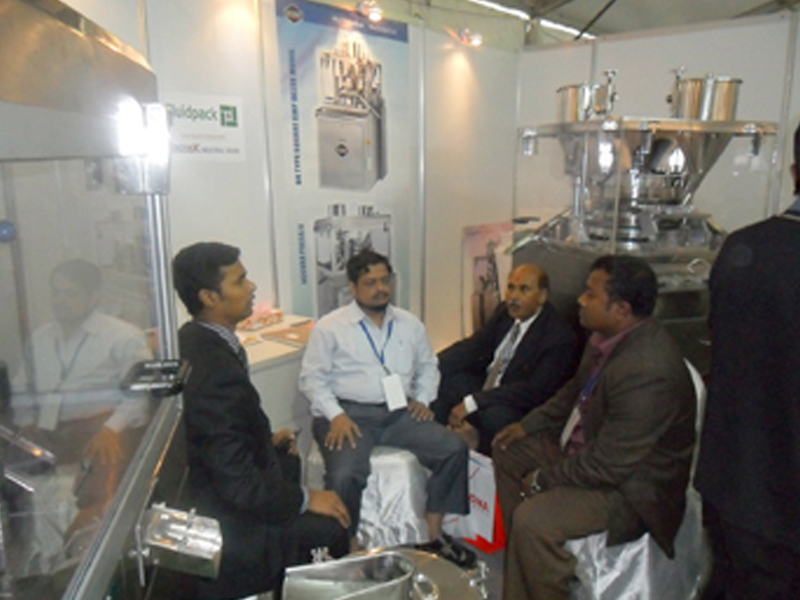 High Speed Tablet Press Machine Expo Bangladesh 2011