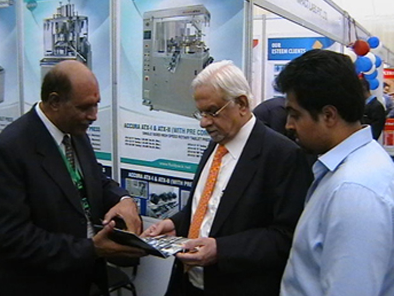 Tableting Machines Manufacturers Exhibition Manglore 2011
