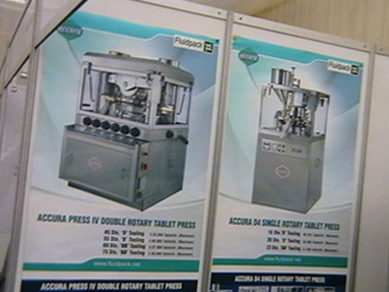 Pharmaceutical Machinery Manufacturers Nigeria Exhibition 2011