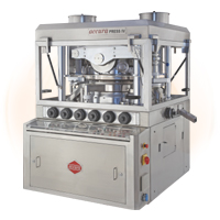 Double Rotary Tablet Press Machine IV Model Accura