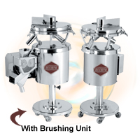 "Tablet Deburring & Dedusting (Vibro) Machine ""ACCURA"" MODEL"