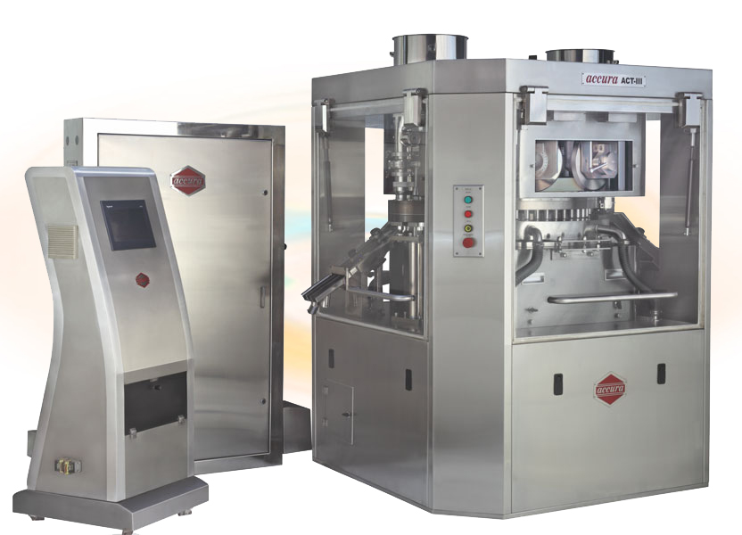 """ACCURA"" MODEL ACT-III High Speed Double Rotary Tablet Presses"
